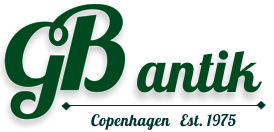 GB Antiques logo - antique shop Copenhagen